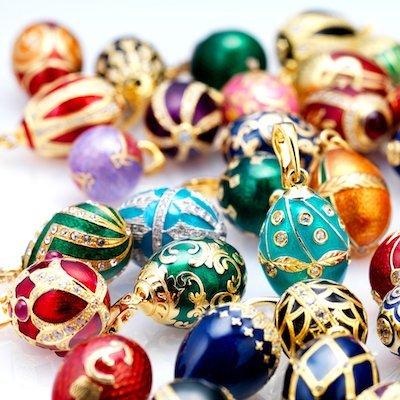 Fabergè geglazuurde eieren
